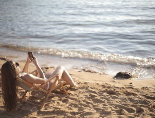 Beach tanning: A reason to relax and bathe in the sun